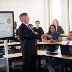 class using technology